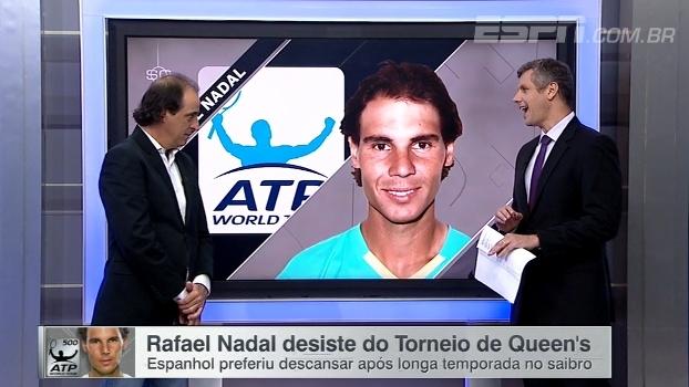 Após título de Roland Garros, Nadal desiste do Torneio de Queen's para tentar mais um título na gram