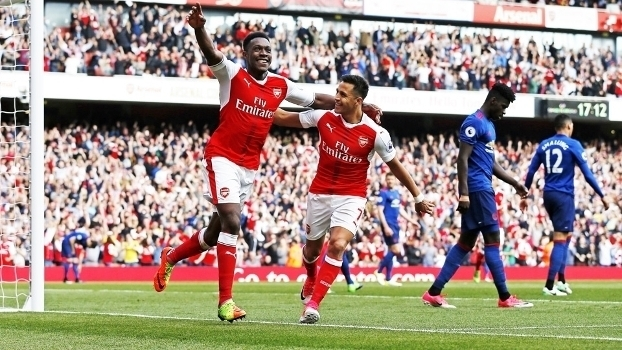 Premier League: Gols de Arsenal 2 x 0 Manchester United