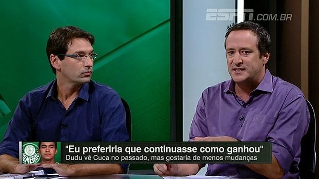 Gian compara pressão entre Eduardo e Carille: 'No Corinthians, jogadores não têm moral para reclamar'