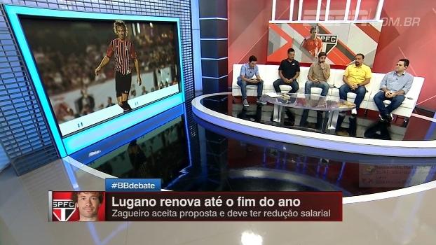 Lugano renova e Alê acha que condução do caso foi mal feita; Nicola dá detalhes do novo contrato