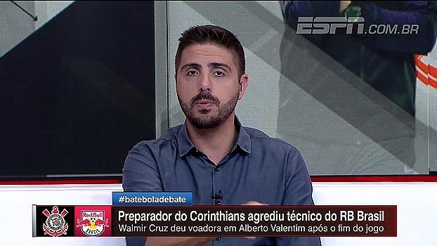 Nicola conta sobre briga no fim da partida entre Corinthians e Red Bull