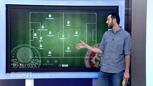 Jogo de defesas: Hofman analisa postura defensiva de Palmeiras e Inter no Allianz Parque