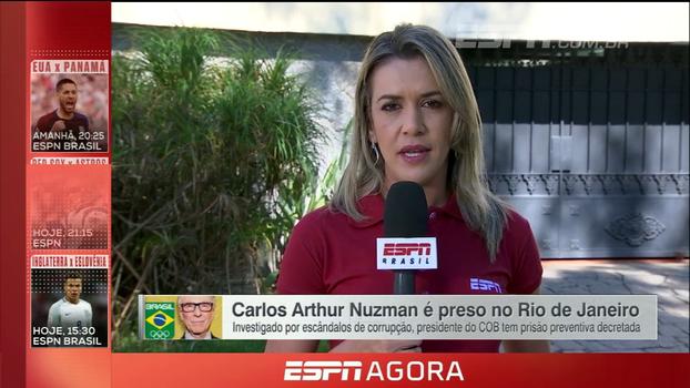 Da casa de Nuzman, Gabi Moreira informa como operação 'Unfair Play - segundo tempo' prendeu dirigente