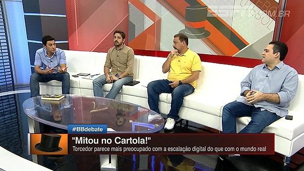 'Tá na boca do povo!' BB Debate fala sobre relação do 'Cartola' com torcedores de rivais