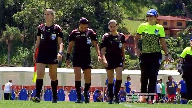 Trio feminino de arbitragem brasileiro tem um objetivo: estar no Mundial de 2019; conheça