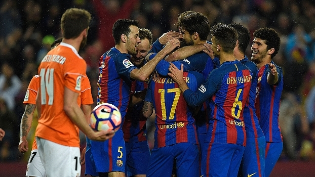 LaLiga: Gols de Barcelona 7 x 1 Osasuna