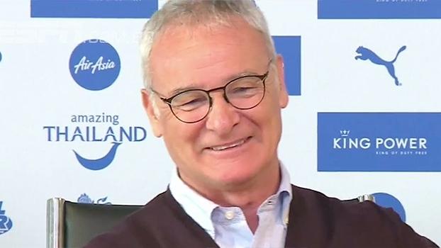 Com bom humor, técnico do Leicester comemora vaga na Champions: 'É fantástico!'