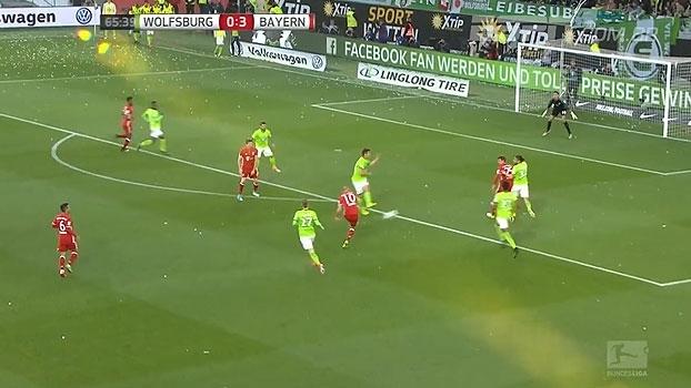 Tempo real: GOL do Bayern! Robben recebe na direita, corta para esquerda e faz mais um