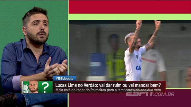 Nicola critica Lucas Lima e revela reclamações do Santos por 'hobby noturno' do atleta