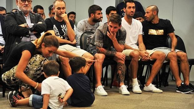 Em evento com convidados mais do que especiais, Pedro se despede do Barcelona