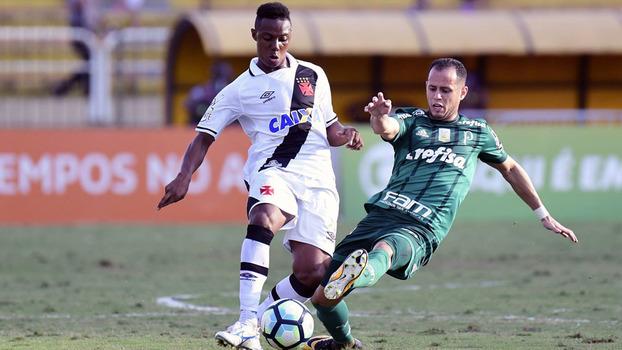 Brasileiro: Gols de Vasco 1 x 1 Palmeiras