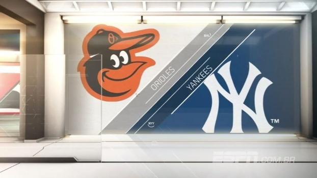 Orioles voltam a bater Yankees após três derrotas seguidas, mas seguem na vice-liderança