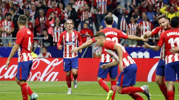 Assista ao gol da vitória do Atlético de Madri sobre o Malaga por 1 a 0!