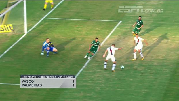 Mendel Bydlowski mostra como foi o empate entre Vasco e Palmeiras pelo Brasileiro