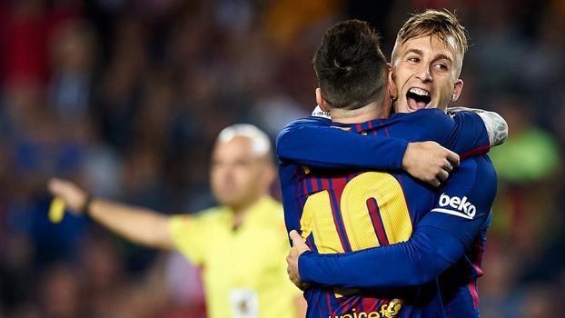 Assista aos gols da vitória do Barcelona sobre o Malaga por 2 a 0!