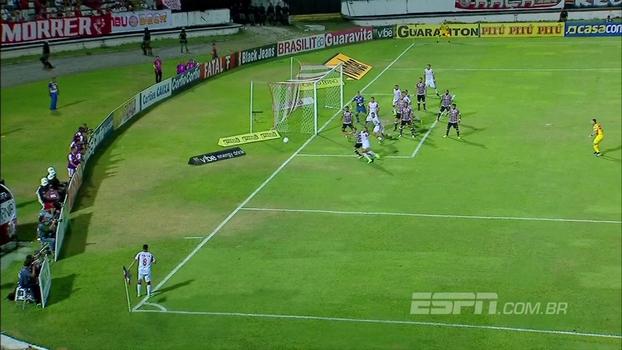 Confira os gols de Santa Cruz 2 x 3 Náutico