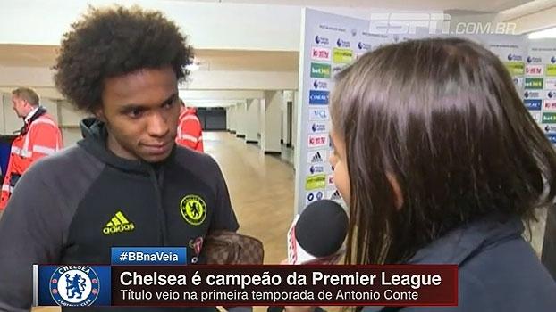 William lembra perda da mãe e comemora segunda Premier League em 4 anos