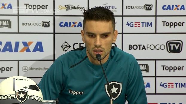 No Botafogo, partida com o Flamengo segue na cabeça da equipe; Bibiana Bolson traz as informações