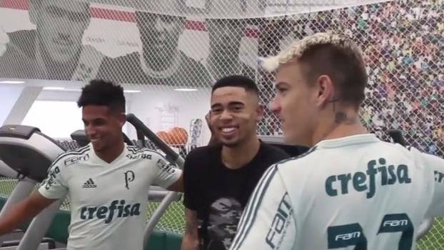 Se recuperando de lesão, Gabriel Jesus visita Centro de excelência do Palmeiras; Confira!