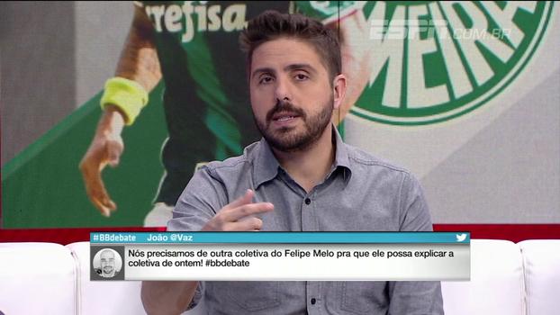 Para Nicola, Cuca vai ser mais comedido sobre caso Felipe Melo, mas afirma: 'Tenho medo do que vai acontecer'