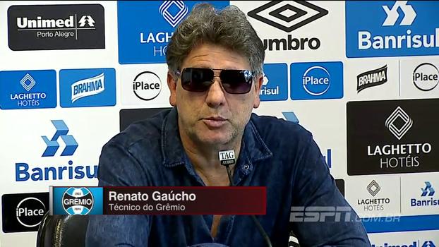 Renato Gaúcho confirma Luan contra o Palmeiras: 'Ele precisa desse ritmo de jogo'