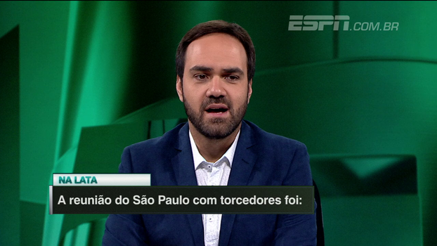 'Na Lata': a reunião do São Paulo com torcedores foi...? Linha de Passe responde!