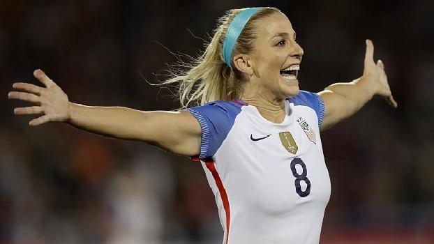 Alex Morgan marca, Julie Ertz faz dois, e Estados Unidos vencem Nova Zelândia em amistoso