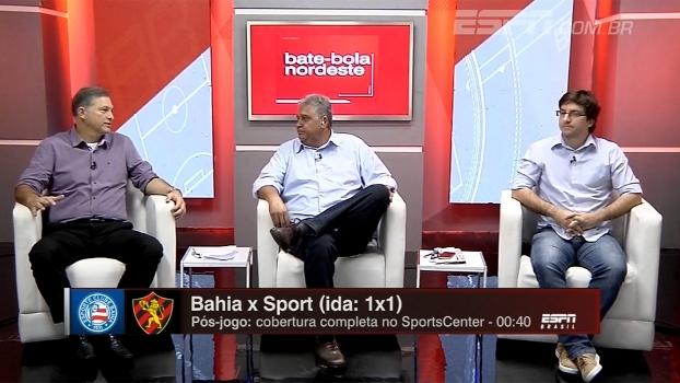 Pilares de Bahia x Sport e expectativa de gols e jogo intenso: Bate Bola Nordeste debate final