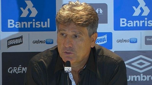 Renato atribui vitória a 'espírito gaúcho' e garante: 'Tenho 2 ou 3 esquemas'