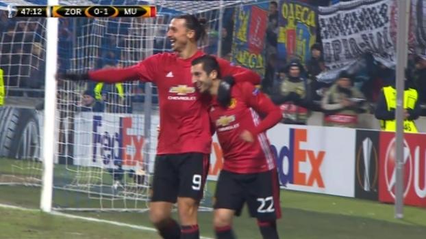 e427fa173c Tempo real  GOLAÇO do United! Mkhitaryan arranca