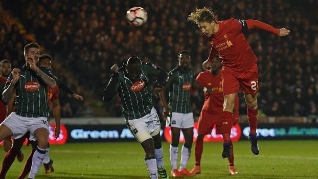 Copa da Inglaterra: Gol de Plymouth 0 x 1 Liverpool