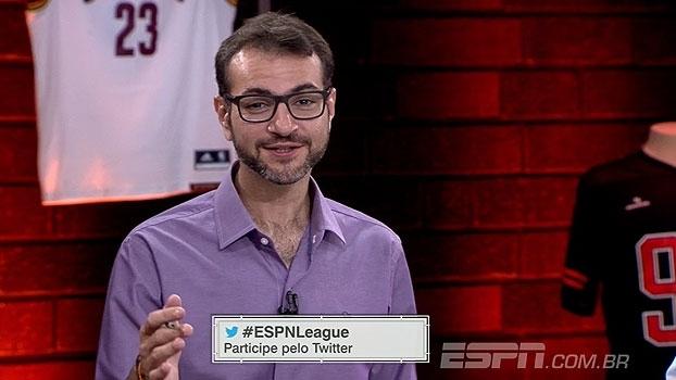 Tem quadro novo no 'ESPN League'! Comente com a gente os lances mais ridículos da semana com #ESPNLEAGUE
