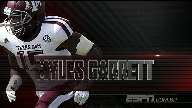 Prospectos da NFL: Myles Garrett, a 'óbvia' primeira escolha do Draft de 2017
