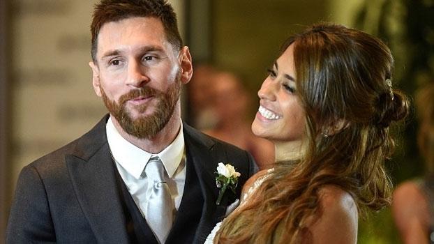 Messi e Antonella: veja imagens do 'casamento do ano'