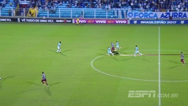 Rafael Oliveira analisa movimentação do Fluminense contra o Avaí