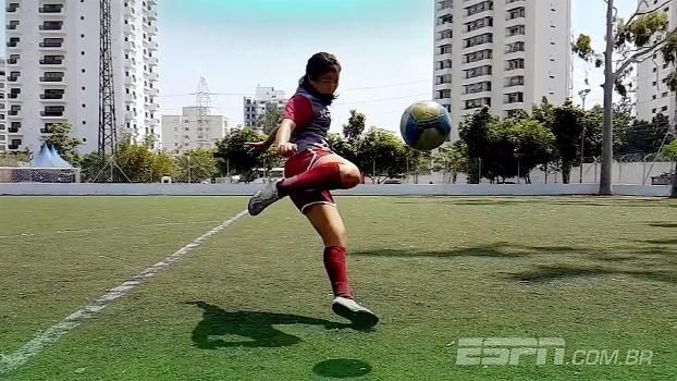 Repórter da ESPN entra em campo e mostra como jogadoras do Juventus mantêm vivo o sonho de jogar