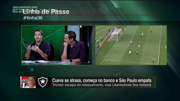 Arnaldo concorda com atitude de Dorival e pede cuidado com Cueva: 'O São Paulo virou uma máquina de moer jogadores'