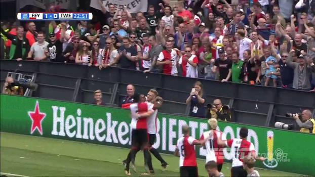 Na primeira rodada do Holandês, Feyenoord bate Twente em casa