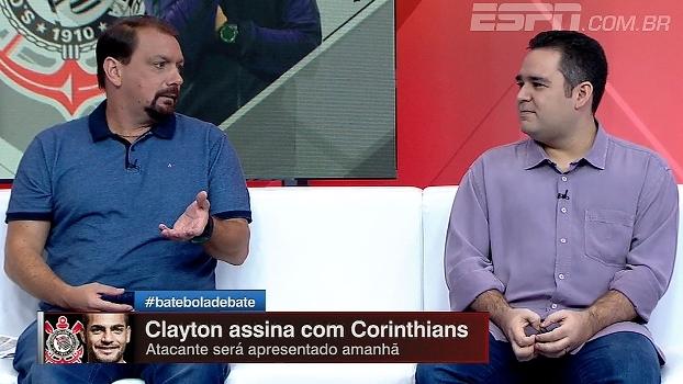 Para Bertozzi, a tendência é Clayton jogar pela ponta e marcar lateral; Alê pede liberdade aos atacantes