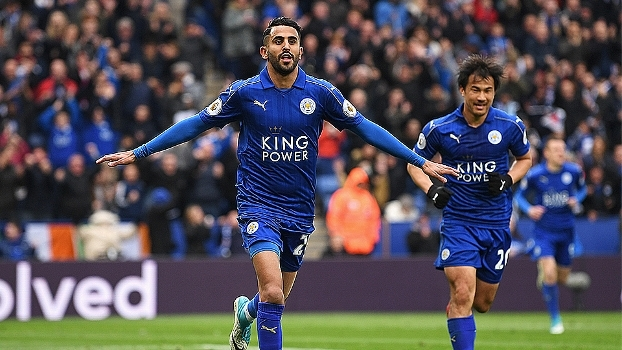 Veja os gols de Leicester 3 x 0 Watford