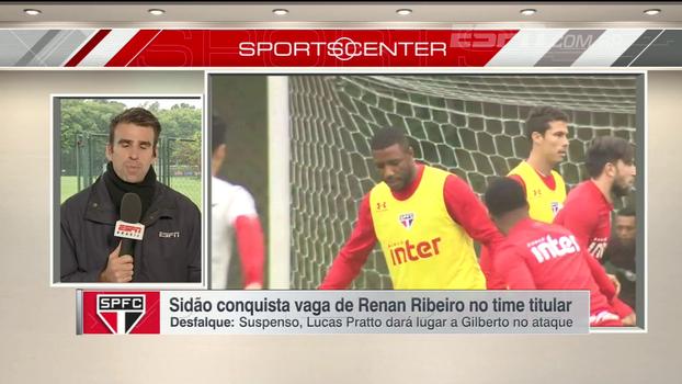 São Paulo deve ter mudanças contra o Avaí; Mendel Bydlowski traz as novidades do time