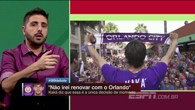 Nicola conta bastidores da tentativa de renovação do Orlando City com Kaká: 'Está fechando uma porta para abrir outras'