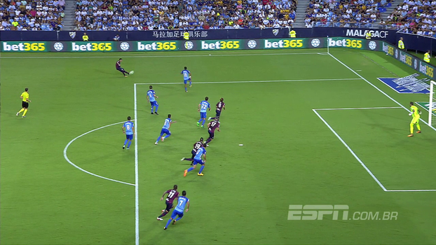 Assista ao gol da vitória do Eibar sobre o Malaga por 1 a 0!