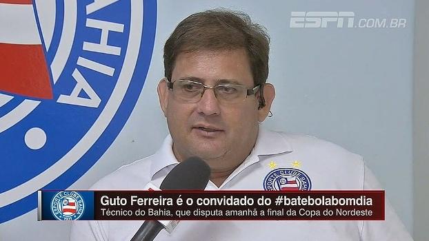 Guto Ferreira fala sobre administração da pressão em grandes clubes: 'No Bahia não é diferente'