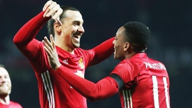 Copa da Liga Inglesa: Gols de Manchester United 4 x 1 West Ham