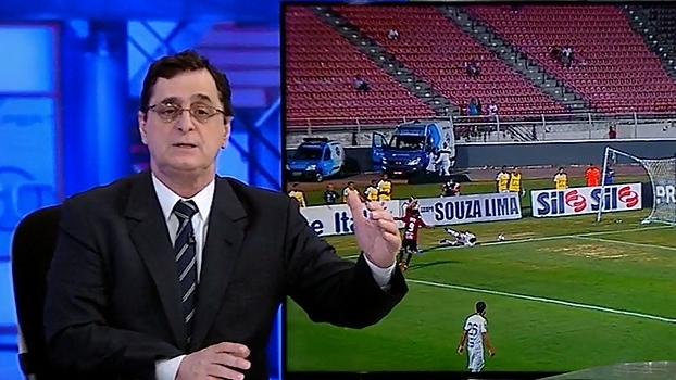 Antero pede calma após novo tropeço do Santos: 'Ainda está no prazo'
