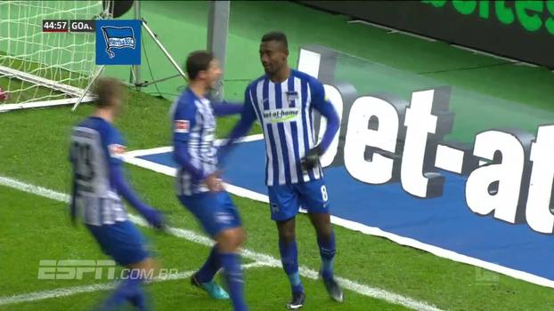 Assista aos gols da vitória do Hertha Berlin sobre o Hannover por 3 a 1!