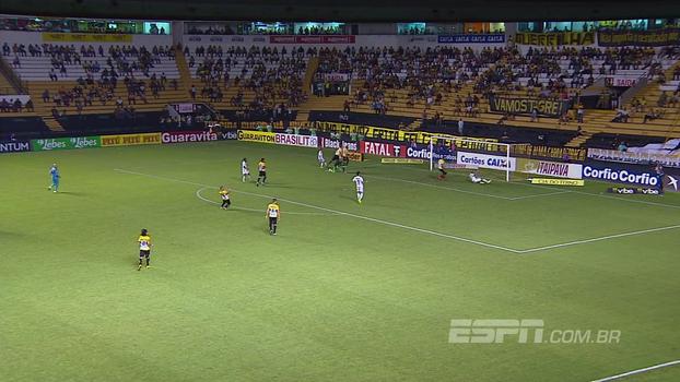 Criciúma sai na frente no primeiro tempo, mas o Figueirense corre atrás e consegue empatar o clássico