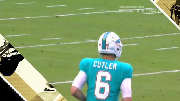 Na estreia de Jay Cutler, Ravens atropelam os Dolphins pela pré-temporada da NFL