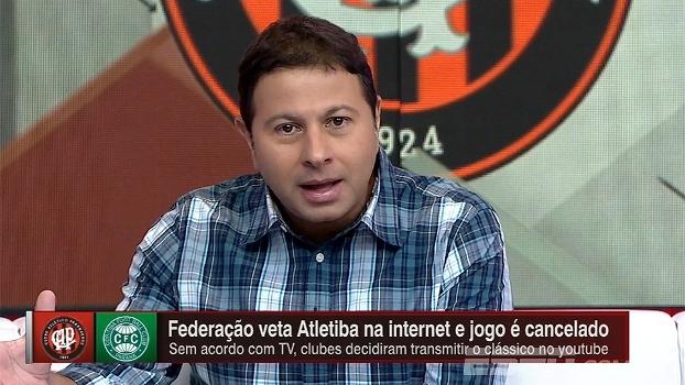 Marra questiona papel da federação após cancelamento de Atletiba: 'Serve a quem?'